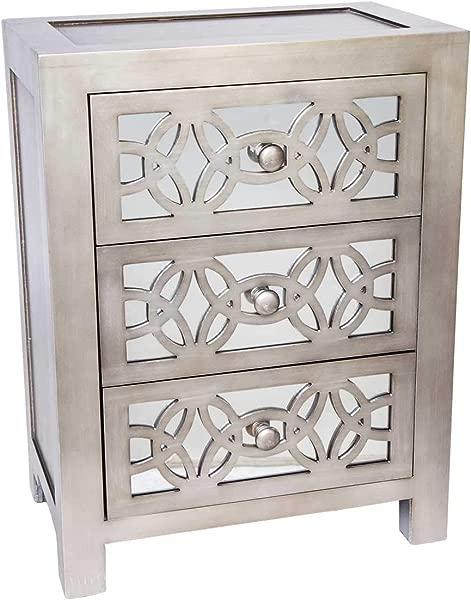 25 75 H Glam Slam 3 Drawer Cabinet