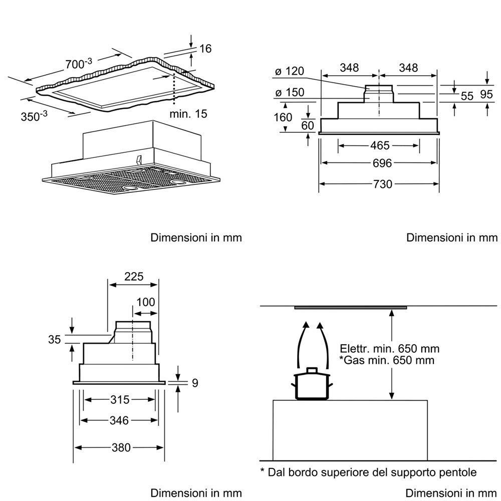 Siemens; campana de cocina LB75565: Amazon.es: Grandes electrodomésticos