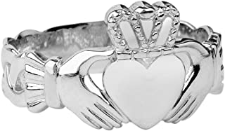 Best white gold claddagh ring for men Reviews