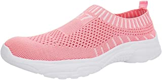Running Shoes for Women Under 20 Dollars,Women's Summer Flying Woven Breathable Shoes Casual Shoes Loafers Sneakers