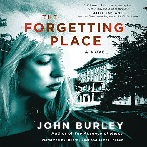 The Forgetting Place audiobook cover art