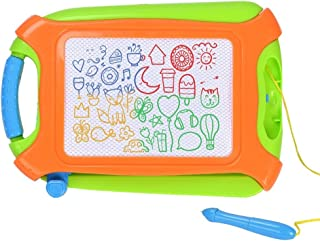 Youth ONG Magnetic Drawing Board,Doodle Board ,Sketching Pad for Toddler Boy Girl Learning Toys,Etch Toddler Sketch Colorful Erasable, Travel Size Toddlers Toys