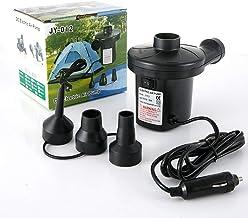 CKR Electrobombas, Bomba de Aire eléctrica Inicio/Uso de Coches para inflables rápida, 50W inflador/deflactor del Camping Bombas con 3 boquillas