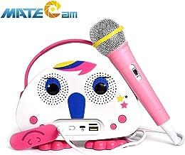 Kids Karaoke Machine with Microphone, Children's Bluetooth Karaoke Wireless Speaker..