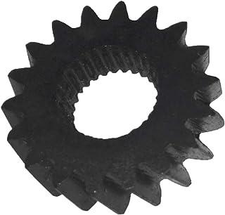 Ouken Negro Espejo retrovisor de Coche a Prueba de Lluvia de Cejas Cubierta Lateral Escudo 1 Par Capotas flexibles Coche y moto