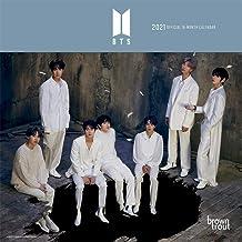 BTS OFFICIAL 2021 7 x 7 Inch Monthly Mini Wall Calendar, K-Pop Bangtan Boys Music