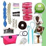 Kit Lo Ultimo en Accesorios para Peinados y Cambios de Look Obsequio de Libro Electrónico Set Regalo Niñas y Chicas