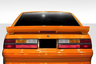 Brightt Duraflex ED-UEE-157 Colt Rear Wing Spoiler - 1 Piece Body Kit - Compatible With Mustang 1979-1993