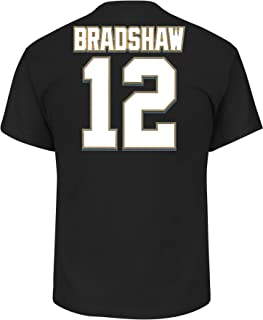 Terry Bradshaw Pittsburgh Steelers Hall of Fame Big & Tall Name and Number T-Shirt