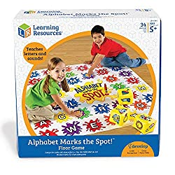 Alphabet floor Game for Learning the ABCs