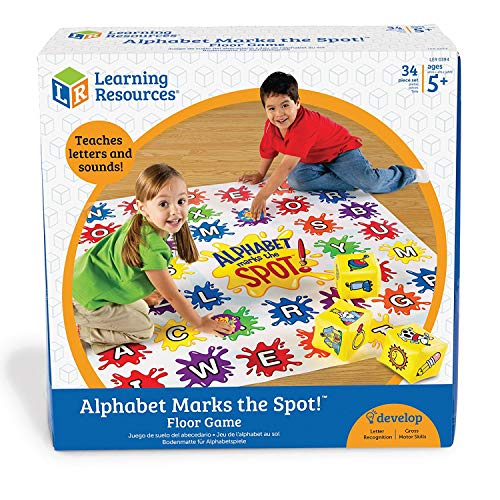 Learning Resources Alphabet Marks the Spot™ Alphabet Activity Game