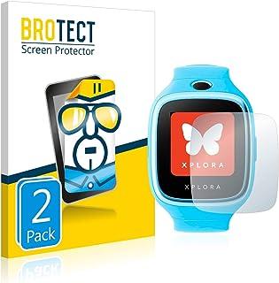 BROTECT Protector Pantalla Compatible con Xplora 3S Protector Transparente (2 Unidades) Anti-Huellas