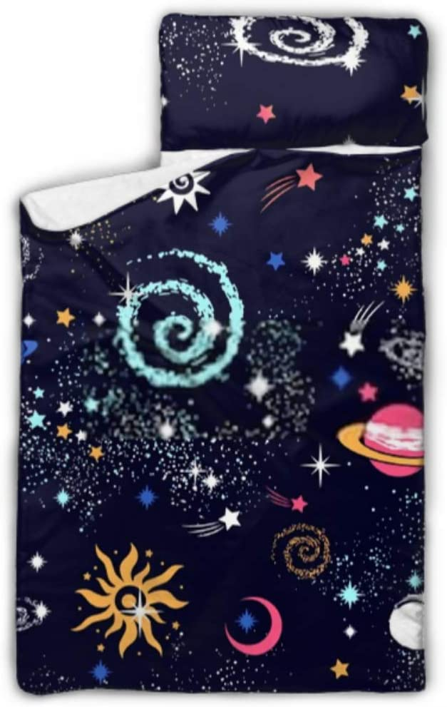 HJSHG Kids Sleeping Surprise price Ultra-Cheap Deals Bag Space Galaxy Constellation Seamless Patt
