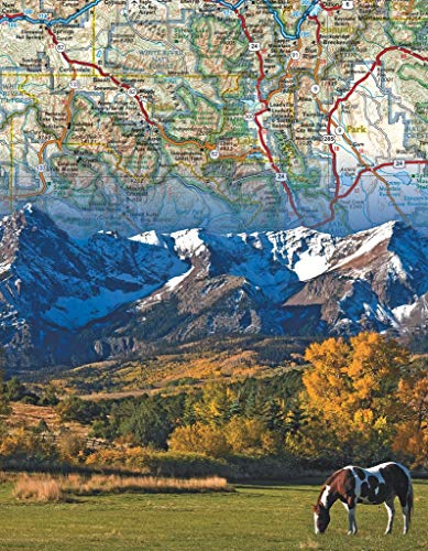 New York Puzzle Company - National Geographic Rocky Mountains Mini-Puzzle, 100 Teile