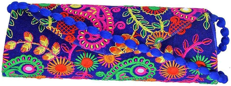 Panchal Creation Wholesale 50 pc lot Bulk Indian Vintage Hand Bag Traditional Bridal Clutch Beaded Shoulder Bag potli Pouch Hand Bag Purses Women Purse by Craft Place M -13