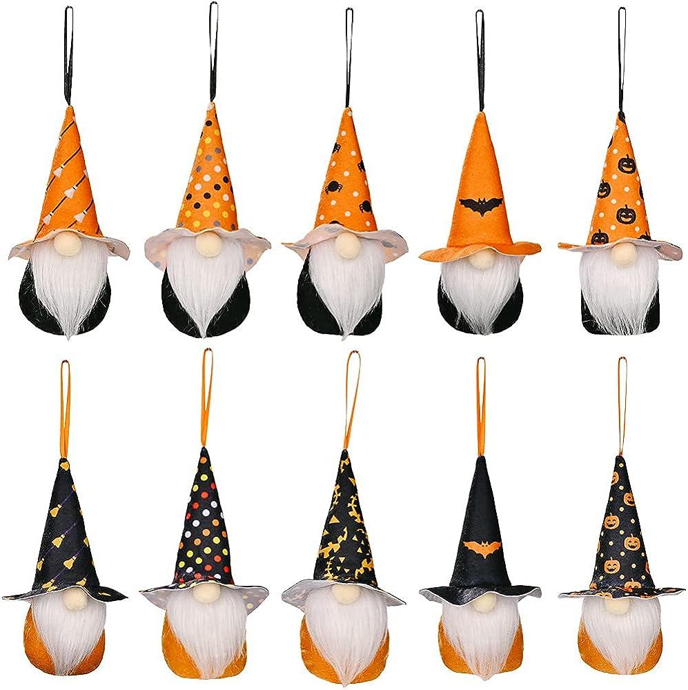 LXKKJ Halloween handmade plush Max 53% OFF face pumpkin Popularity props doll 10 parCty