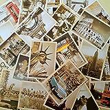 EUGU 32 piezas 1 set Vintage retro postales antiguas de viaje para recaudar valor