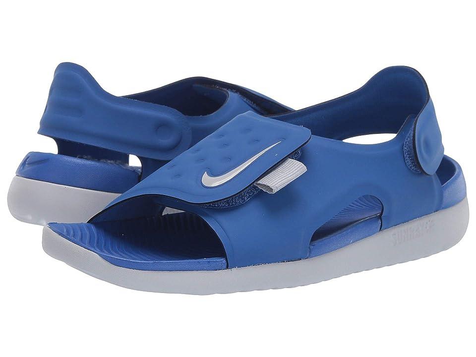 Nike Kids Sunray Adjust 5 (Little Kid/Big Kid) (Game Royal/Wolf Grey) Boys Shoes