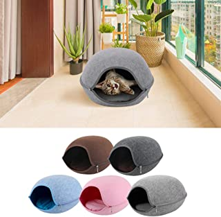 Docooler Cat Pet Cave Cat Cave Bed Cat Bed for Cats Kittens Pets