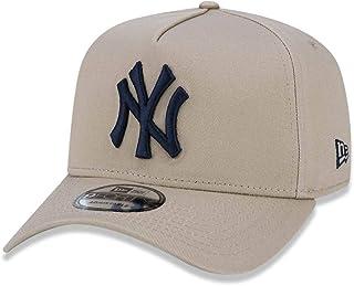 e6b8bff2a BONE 940 NEW YORK YANKEES MLB ABA CURVA SNAPBACK BEGE NEW ERA