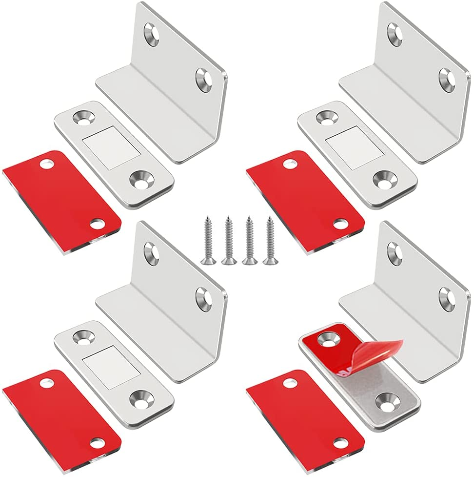 Limited Special Price Cabinet Magnetic Catch L-Shaped Jiayi Thin Ultra 4 Cheap mail order specialty store Pack