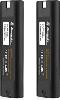 Upgraded Powerextra 9.6v 3600mAh Replacement Battery Compatible with Makita 9000 9033 193890-9 192696-2 632007-4 2pack