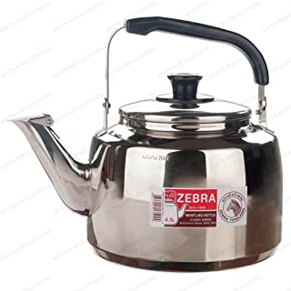 Stainless Steel Whistling Tea Pot X-Large