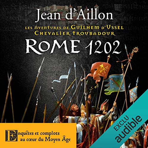 Rome 1202 audiobook cover art