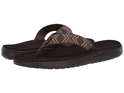 Teva Voya Flip (Quito Dark Olive) Men