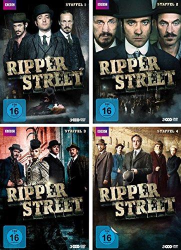 Ripper Street - Staffel 1-4 (12 DVDs)