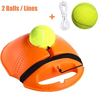 keepuswell Sports Tennis Trainer Rebound Balls - Tennis Trainer Equipment Trainer Base - Self-Study Practice Training Tool Training Gear for Kids Player Beginner