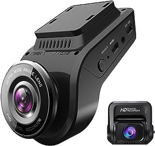 ドライブレコーダー 前後カメラ 32gカード付き wifi搭載 gps内蔵 1440P フルHD SONYセンサーIR夜視機能 ドラレコ 前後 1200万画素 170度広角 2カメラ リアカメラ 2.4インチ LCDパネル WDR機能 常時録画...