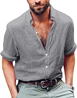 09b11196a Amazon.fr : chemise col mao homme - Chemises business / Chemises ...