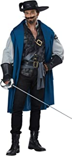 California Costumes Musketeer Deluxe Costume for Adults