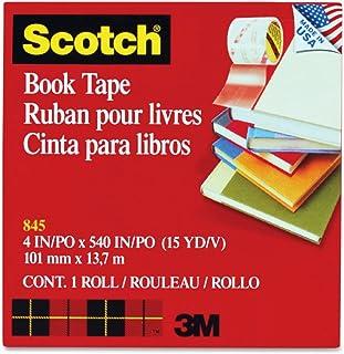 "See-Through Book Repair Tape, 4"""" Wide, 15 Yards Long, 3"""" Core (MMM8454)"