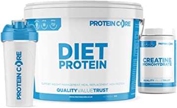 Diet Whey Protein Shake Creatine Monohydrate 1KG – Meal Replacement Fast Weight Loss Fat Burner Strawberry Shake 1KG Estimated Price : £ 19,99
