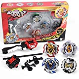 infinitoo Toupie 4pcs Set avec Launcher Gyro métal Combat| Battle Set Jouets...