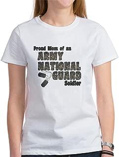 CafePress National Guard Mom (Tags) T-Shirt Classic Tshirt