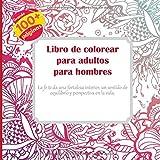 Libro de colorear para adultos para hombres - La fe te da una fortaleza interior, un sentido de equilibrio y perspectiva en la vida. (Mandala)