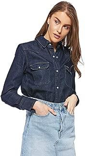 Calvin Klein Women's 2724680142-Denim Shirts