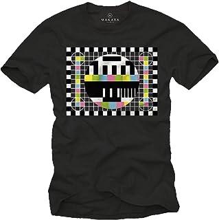 MAKAYA Camiseta para Hombre - PATRÓN DE Prueba