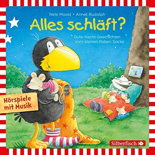 Alles schläft? Gute-Nacht-Geschichten vom kleinen Raben Socke Audiobook By Nele Moost cover art