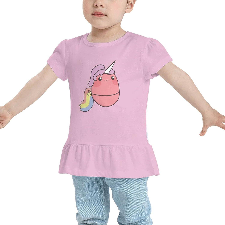 Kawaii Potato Unicorn Unisex Babys Girls Cotton T-Shirt T-Shirt Dresses