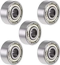 Roulement 10pcs F695ZZ Roulements /à billes miniatures /à double blindage 5x13x4mm