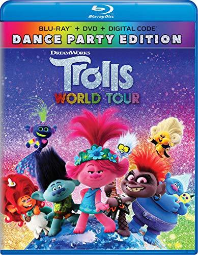 Trolls World Tour Dance Party Edition Blu-ray + DVD + Digital