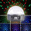 LEVIPOWER New Design 6 Color DMX 512LED Crystal Ball for Halloween Party, Christmas Party, Home Party, Birthday Party, Karaoke Party, Dance Party, Etc(005)