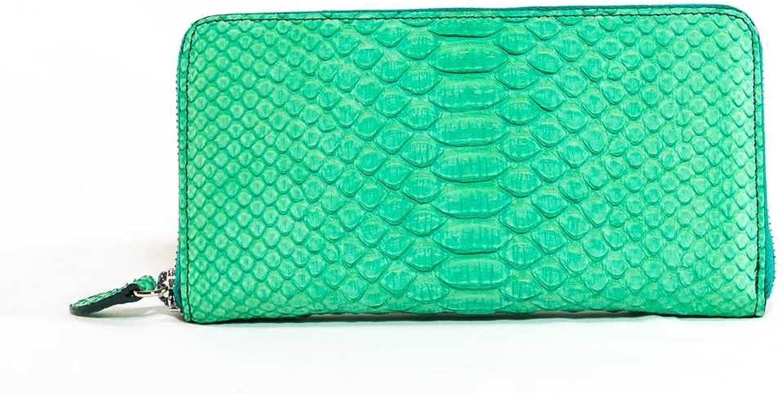 Officina Firenze, Damen-Geldbörse Grün grün B07F16793V