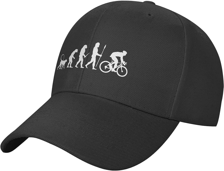 Evolution Hat Black Baseball Cap, Adjustable Cooling Trucker Hat Sun Dad Hats for Men Women Outdoor