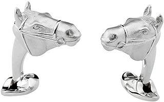 Deakin and Francis Sterling Silver Horse Head Cufflinks