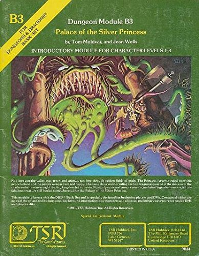 Palace of the Silver Princess (Dungeons & Dragons)